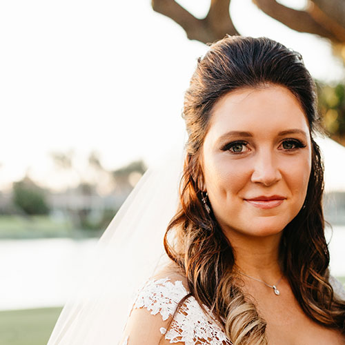 Oceanside Cleaners - Bride Hannah Douglas