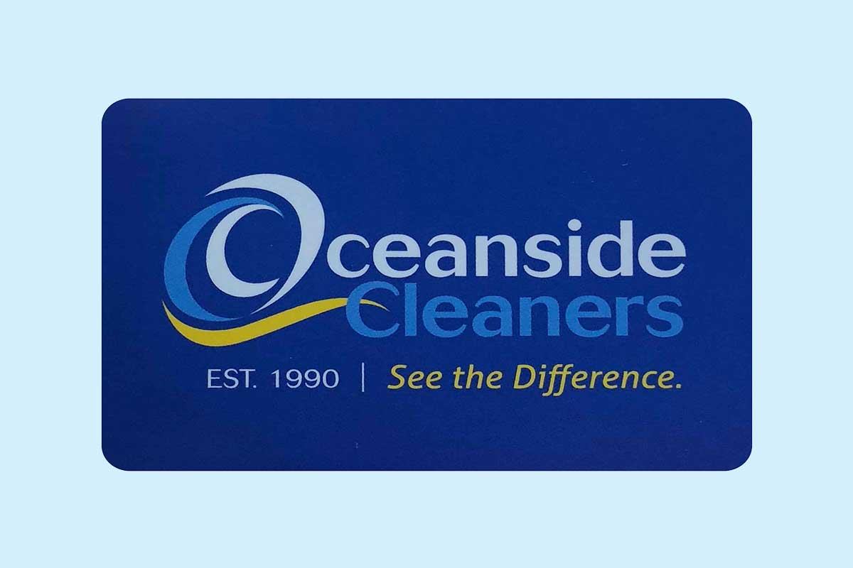 Oceanside Cleaners - Blog - Gift Card