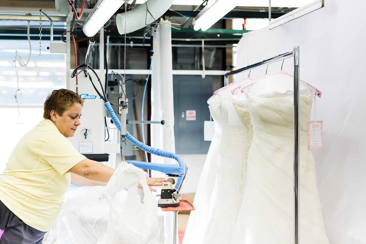 How To Ensure Your Wedding Dress Survives Dry Cleaning