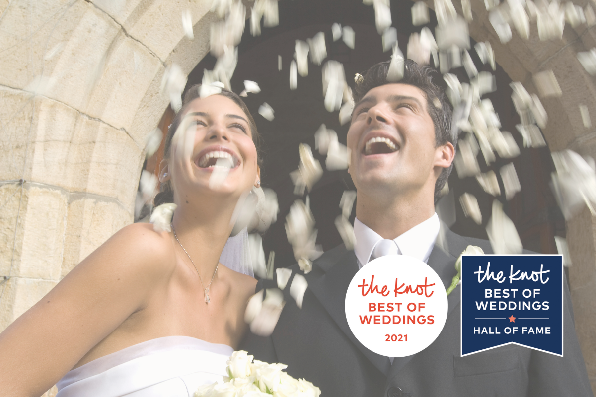 the knot Best of Wedding Hall of Fame